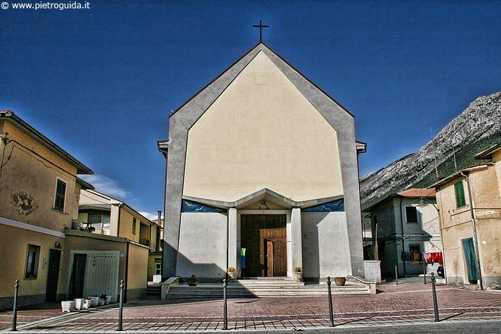 Celano, chiesa del Sacro cuore