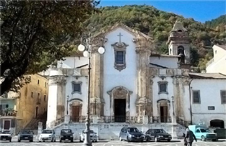 Luco dei Marsi, chiesa di San Giovanni Battista