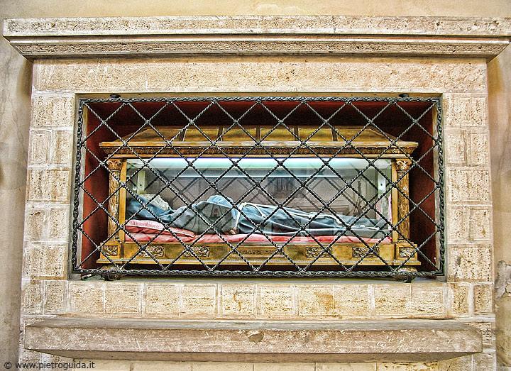 Spoglie Tommaso da Celano a Tagliacozzo
